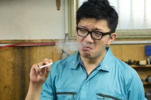 タバコくさい