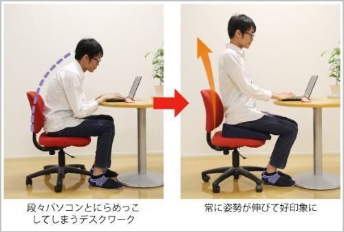 座るだけで姿勢がケアできるおすすめクッション