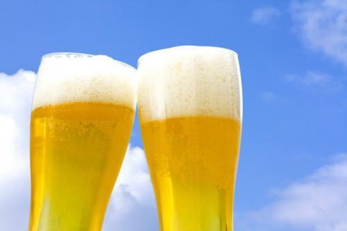 ビールを飲んでしまう